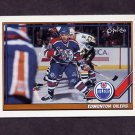 1991-92 O-Pee-Chee Hockey #103 Edmonton Oilers Team