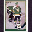 1991-92 O-Pee-Chee Hockey #093 Marc Bureau - Minnesota North Stars