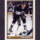 1991-92 O-Pee-Chee Hockey #061 Bob Kudelski - Los Angeles Kings
