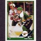 1991-92 O-Pee-Chee Hockey #017 Curt Giles - Minnesota North Stars