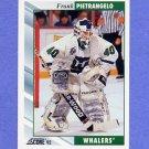 1992-93 Score Hockey #535 Frank Pietrangelo - Hartford Whalers