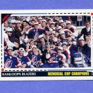 1992-93 Score Hockey #528 Memorial Cup / Kamloops Blazers