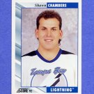 1992-93 Score Hockey #508 Shawn Chambers - Tampa Bay Lightning