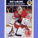 1992-93 Score Hockey #486 Ray LeBlanc - Chicago Blackhawks