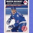 1992-93 Score Hockey #474 Martin Rucinsky - Quebec Nordiques