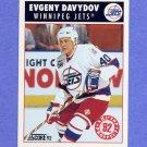 1992-93 Score Hockey #456 Evgeny Davydov - Winnipeg Jets