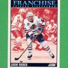 1992-93 Score Hockey #422 Jeremy Roenick FP - Chicago Blackhawks