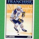 1992-93 Score Hockey #420 Pat LaFontaine FP - Buffalo Sabres