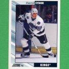 1992-93 Score Hockey #410 Darryl Sydor - Los Angeles Kings