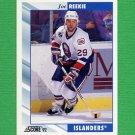 1992-93 Score Hockey #397 Joe Reekie - New York Islanders