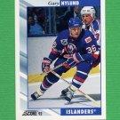 1992-93 Score Hockey #381 Gary Nylund - New York Islanders