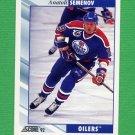1992-93 Score Hockey #336 Anatoli Semenov - Edmonton Oilers