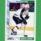 1992-93 Score Hockey #335 Brian Bellows - Minnesota North Stars
