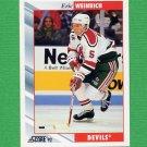 1992-93 Score Hockey #308 Eric Weinrich - New Jersey Devils
