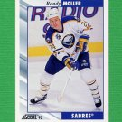 1992-93 Score Hockey #289 Randy Moller - Buffalo Sabres