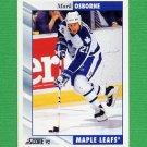 1992-93 Score Hockey #277 Mark Osborne - Toronto Maple Leafs
