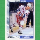 1992-93 Score Hockey #268 Randy Gilhen - New York Rangers