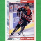1992-93 Score Hockey #266 Steve Larmer - Chicago Blackhawks