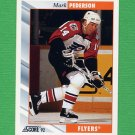 1992-93 Score Hockey #263 Mark Pederson - Philadelphia Flyers