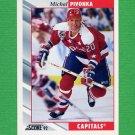 1992-93 Score Hockey #253 Michal Pivonka - Washington Capitals