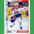 1992-93 Score Hockey #246 Stephan Lebeau - Montreal Canadiens