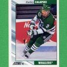 1992-93 Score Hockey #238 Zarley Zalapski - Hartford Whalers