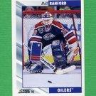 1992-93 Score Hockey #236 Bill Ranford - Edmonton Oilers