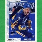 1992-93 Score Hockey #213 Wayne Presley - Buffalo Sabres