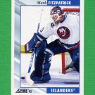 1992-93 Score Hockey #210 Mark Fitzpatrick - New York Islanders