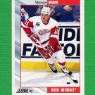 1992-93 Score Hockey #207 Shawn Burr - Detroit Red Wings