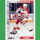 1992-93 Score Hockey #193 Joe Nieuwendyk - Calgary Flames