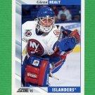 1992-93 Score Hockey #188 Glenn Healy - New York Islanders
