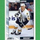 1992-93 Score Hockey #164 Brent Ashton - Boston Bruins