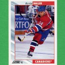 1992-93 Score Hockey #159 Kevin Haller - Montreal Canadiens