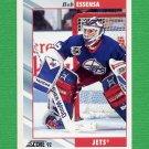 1992-93 Score Hockey #123 Bob Essensa - Winnipeg Jets