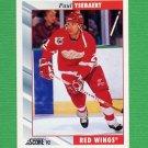 1992-93 Score Hockey #095 Paul Ysebaert - Detroit Red Wings