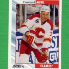 1992-93 Score Hockey #083 Frantisek Musil - Calgary Flames