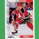 1992-93 Score Hockey #075 Scott Stevens - New Jersey Devils