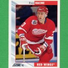 1992-93 Score Hockey #074 Yves Racine - Detroit Red Wings