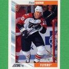 1992-93 Score Hockey #043 Dan Quinn - Philadelphia Flyers