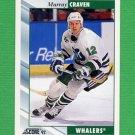 1992-93 Score Hockey #018 Murray Craven - Hartford Whalers