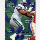 1995 Fleer Football #363 Cortez Kennedy - Seattle Seahawks