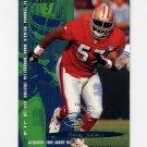 1995 Fleer Football #343 Rickey Jackson - San Francisco 49ers