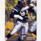 1995 Fleer Football #336 Leslie O'Neal - San Diego Chargers