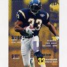 1995 Fleer Football #329 Ronnie Harmon - San Diego Chargers