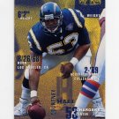 1995 Fleer Football #328 Courtney Hall - San Diego Chargers