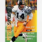 1995 Fleer Football #321 Neil O'Donnell - Pittsburgh Steelers