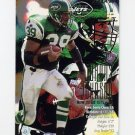 1995 Fleer Football #292 Johnny Johnson - New York Jets