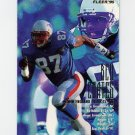 1995 Fleer Football #250 Ben Coates - New England Patriots