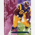 1995 Fleer Football #204 Troy Drayton - St. Louis Rams
